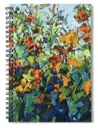 Vadasz Sunflowers Spiral Notebook