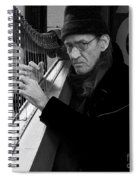 Vagrant Music Spiral Notebook