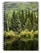 Vail Reflections In The Summer Spiral Notebook