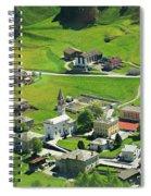 Val Poschiavo From The Bernina Express Switzerland Spiral Notebook