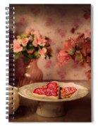 Valentine Cookies Spiral Notebook