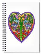 Valentine Heart Spiral Notebook