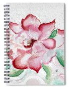 Valentine Rose Spiral Notebook