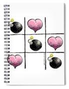 Valentine Violence Spiral Notebook