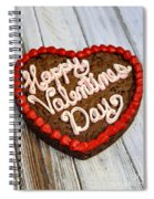 Valentines Cookie  Spiral Notebook