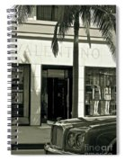 Valentino On Rodeo Drive Spiral Notebook