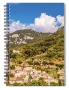 Valldemossa View From The Town Spiral Notebook