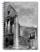 Valle Crucis Abbey Monochrome Spiral Notebook
