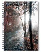 Valley Creek Sunrise Spiral Notebook