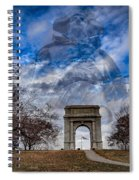 Valley Forge Spiral Notebook