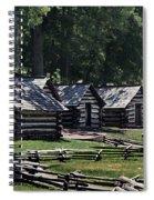 Valley Forge Barracks Spiral Notebook