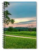 Valley Forge Sunset Spiral Notebook