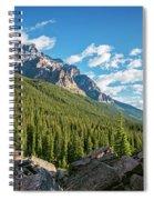 Valley Near Moraine Lake Banff Spiral Notebook