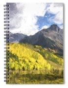 Valley Of Autumn II Spiral Notebook