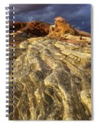 Valley Of Fire 1 Spiral Notebook
