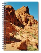 Valley Of Fire Cabin Spiral Notebook