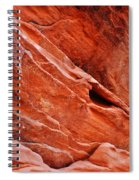 Valley Of Fire Mouse's Tank Sandstone Wall Portrait Spiral Notebook