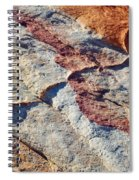 Valley Of Fire White Domes Sandstone Spiral Notebook