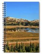 Valley Of Ghosts Spiral Notebook