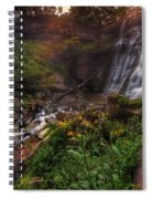 Valley Of Golden Light Spiral Notebook