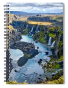 Valley Of Tears #2 - Iceland Spiral Notebook