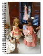 Valley Of The Dolls Spiral Notebook