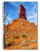 Valley Of The Gods Spiral Notebook