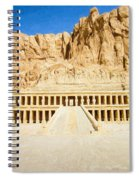 Valley Of The Queens 2 Spiral Notebook