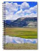 Valley Of The Serpent Spiral Notebook