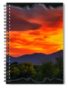Valley Sunset H32 Spiral Notebook