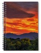 Valley Sunset H33 Spiral Notebook