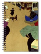 Valloton: Street Corner Spiral Notebook