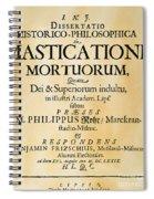 Vampire Book, 1679 Spiral Notebook