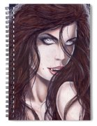 Vampiress Spiral Notebook