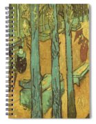 Van Gogh: Alyscamps, 1888 Spiral Notebook