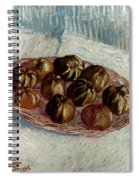 Van Gogh: Apples, 1887 Spiral Notebook