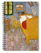 Van Gogh: Bedroom, 1888 Spiral Notebook