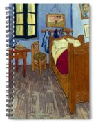 Van Gogh: Bedroom, 1889 Spiral Notebook