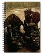 Van Gogh Boots 1886 Spiral Notebook