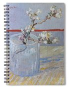 Van Gogh: Branch, 1888 Spiral Notebook