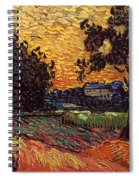 Van Gogh: Castle, 1890 Spiral Notebook