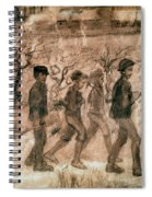 Van Gogh: Children, 1880 Spiral Notebook