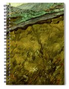 Van Gogh: Field, 1890 Spiral Notebook