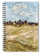 Van Gogh: Fields, 1888 Spiral Notebook