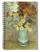 Van Gogh: Flowers, 1887 Spiral Notebook