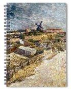 Van Gogh: Gardens, 1887 Spiral Notebook