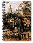 Van Gogh: Guingette, 1886 Spiral Notebook
