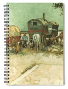 Van Gogh: Gypsies, 1888 Spiral Notebook
