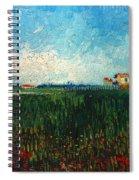 Van Gogh: Landscape, 1888 Spiral Notebook