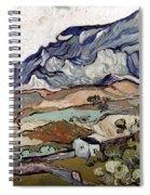 Van Gogh: Landscape, 1890 Spiral Notebook